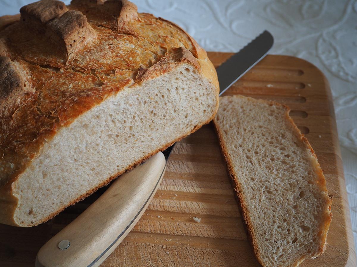Buttermilch Krustenbrot • Cucina Christina