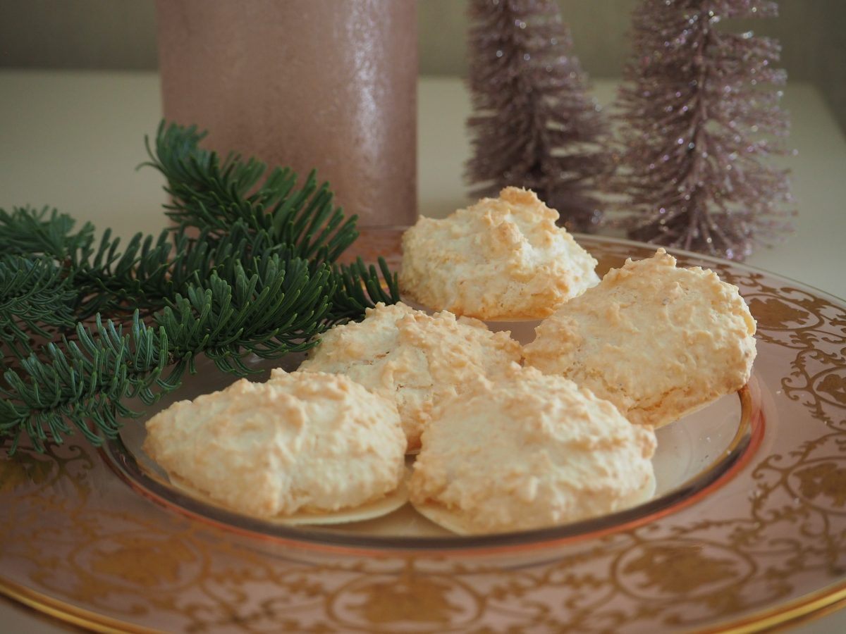 Weihnachtskekse Klassiker.Kokosmakronen Der Klassiker Cucina Christina